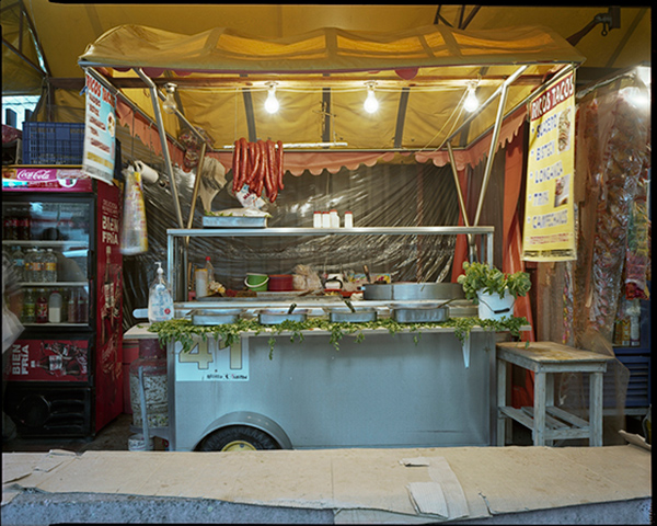 Jim Dow, Tacos Stand in TlaLpan