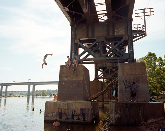 Kevin Thrasher, Bridge Backflip