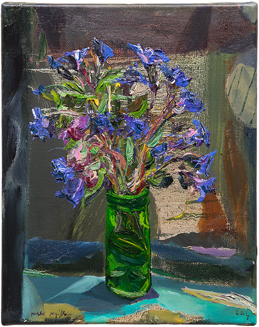Nick Miller, Blue Flowers