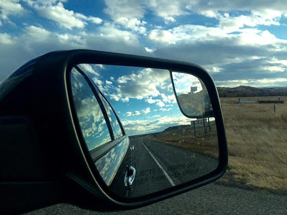 Colleen Chartier, Rear View, Montana