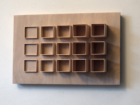 Fritz Horstman, Formwork for Fifteen Squares