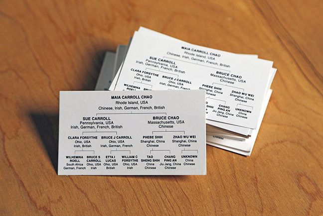 Maia Chao, My Business (Cards)