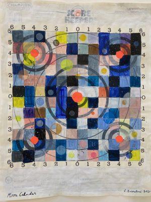 Crystalle Lacouture - 'Moon Calendar (3)'